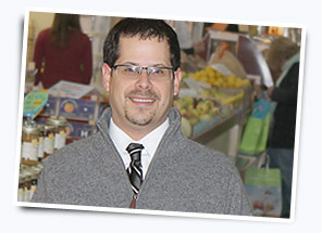 Funeral Director Justin Koehler at Central Market